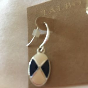 Talbots Outlet Jewelry - TALBOTS OUTLET OVAL DROP EARRINGS
